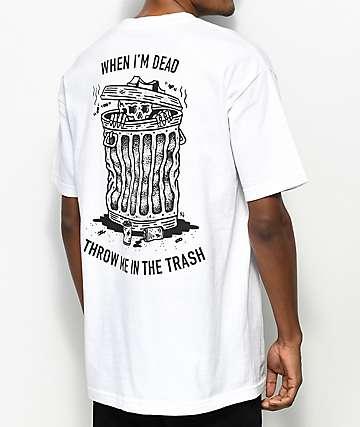 Sketchy Tank When I Die camiseta blanca