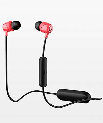 Skullcandy Jib Wireless Black & Red Earbuds