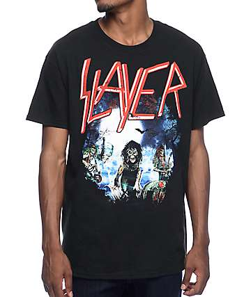 Slayer Live Undead Black T-Shirt