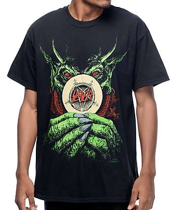 Slayer Root Of All Evil Black T-Shirt