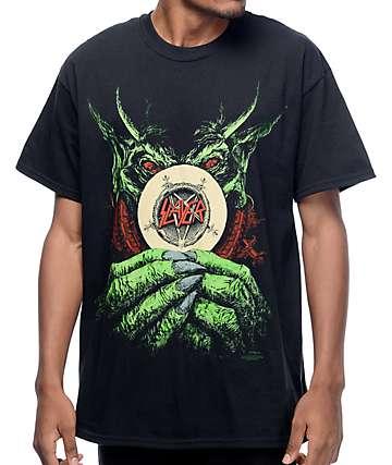 Slayer Root Of All Evil camiseta negra