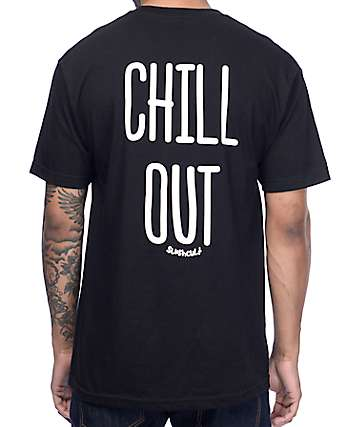 Slushcult Chill Out Black T-Shirt