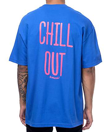 Slushcult Chill Out Blue T-Shirt