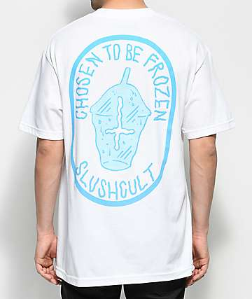 Slushcult Chosen To Be Frozen White T-Shirt