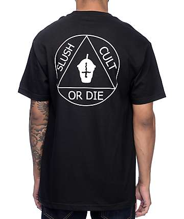Slushcult Cult Ritual Black T-Shirt