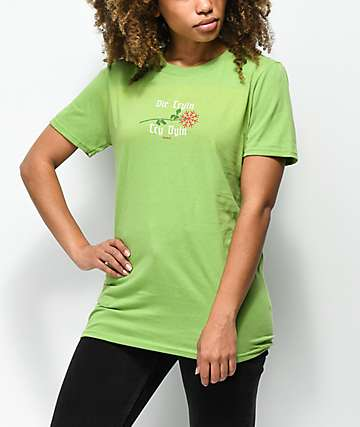 Slushcult Die Tryin Green T-Shirt