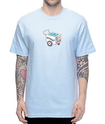 Slushcult Push Cart Light Blue T-Shirt
