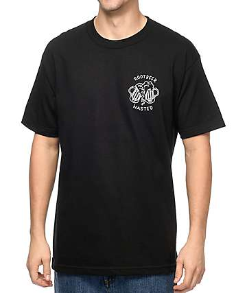 Slushcult Root Beer Wasted Black T-Shirt