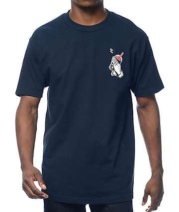 Slushcult Slush God Navy T-Shirt