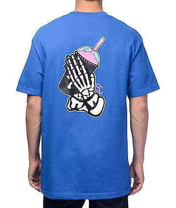 Slushcult Slushgod Bones camiseta azul