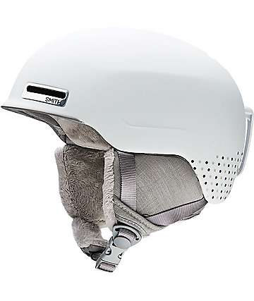Smith Allure Womens White Snowboard Helmet