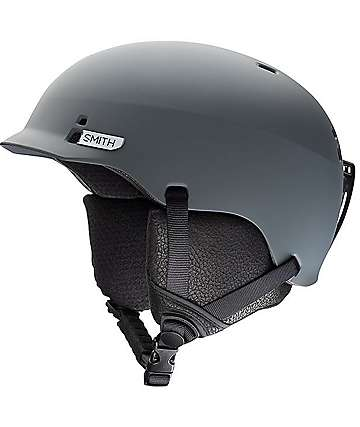 Smith Gage Charcoal Snowboard Helmet