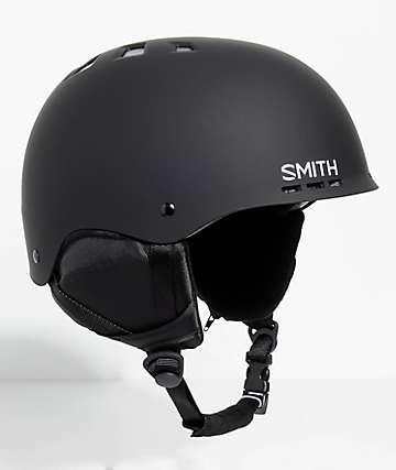 Smith Holt casco de snowboard en negro