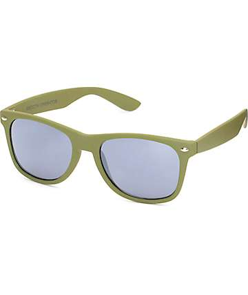 Smooth Op Olive Sunglasses