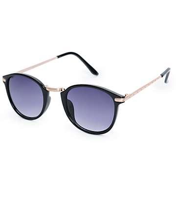 Sneaky Peeks Round Classic Sunglasses