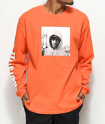 Snoop Dogg Doggy Style Orange Long Sleeve T-Shirt