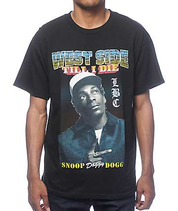Snoop Dogg West Coast Black T-Shirt