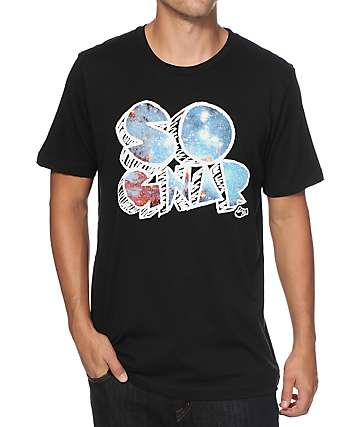 So Gnar Galaxy Scribble T-Shirt