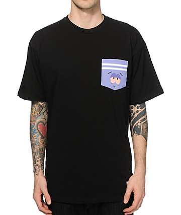 South Park x HUF Towelie 420 Pocket T-Shirt