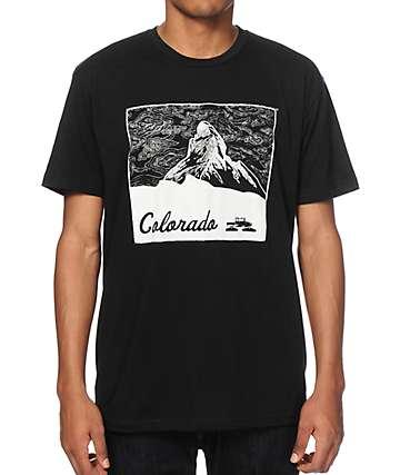 Spacecraft CO Mountain Black T-Shirt