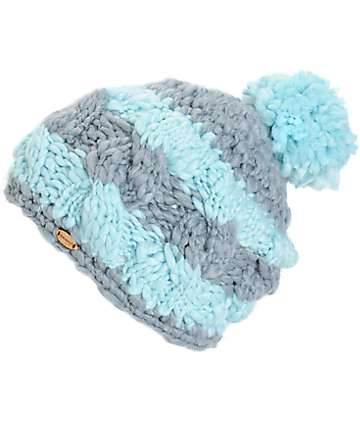 Spacecraft Ella Stripe Pom Beanie