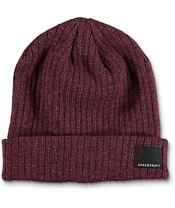 Spacecraft JW Dark Red Beanie
