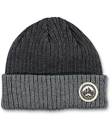 Spacecraft Nippon Black & Grey Beanie