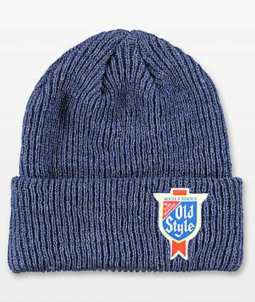 Spacecraft Old Style Blue Dock Beanie
