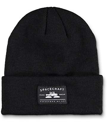 Spacecraft Otis Fold Black Beanie