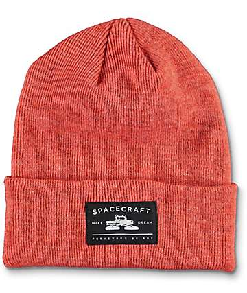 Spacecraft Otis Red Fold Beanie