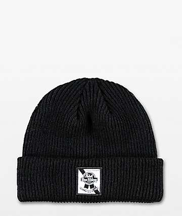Spacecraft PBR Dock Black Beanie