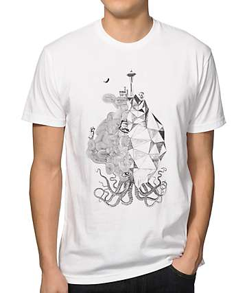 Spacecraft WA City Squid T-Shirt