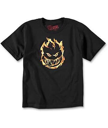 Spitfire 451 camiseta negra para niños