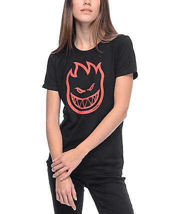 Spitfire Bighead Black T-Shirt