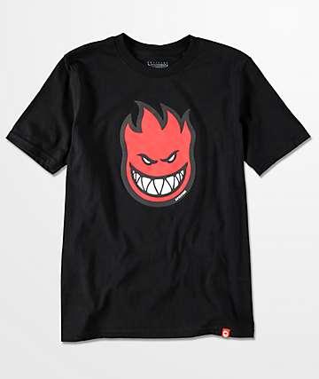 Spitfire Bighead Fill camiseta negra para niños