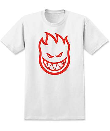 Spitfire Bighead White Boys T-Shirt