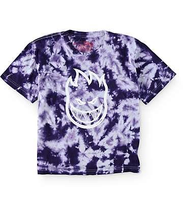 Spitfire Boys Bighead Tie Dye T-Shirt