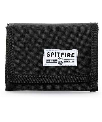 Spitfire Classic Bighead Trifold Hook And Loop Fastener Wallet