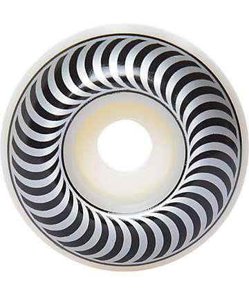 Spitfire Classics 54mm 99a ruedas de skate en negro y color plata