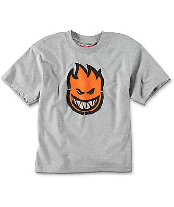 Spitfire Commando Grey Boys T-Shirt
