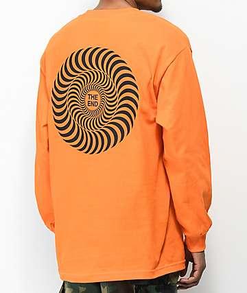 Spitfire Covert Classic Orange Long Sleeve T-Shirt