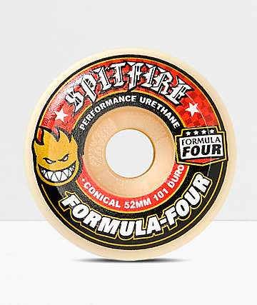 Spitfire F4 Conical Full 52mm Skateboard Wheels