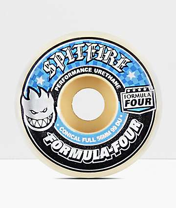 Spitfire F4 Conical Full 56mm 99a Skateboard Wheels