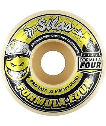 Spitfire Formula Four 53mm Adidas X Silas 101 Duro Skateboard Wheels