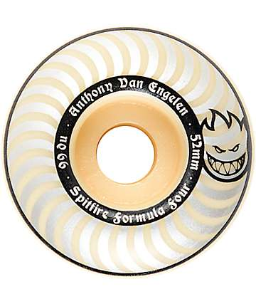 Spitfire Formula Four AVE Whiteout ruedas de skateboard 52mm 99a