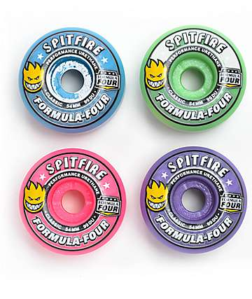 Spitfire Formula Four Bloom Mash Up 54mm 99a ruedas de skate