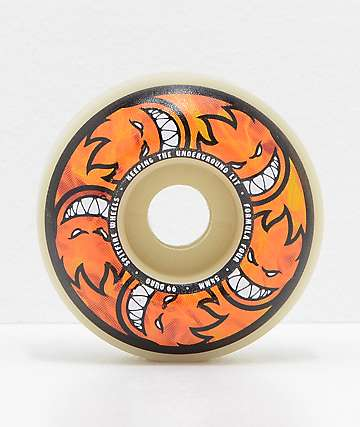 Spitfire Formula Four Classic Multiball Flame 54mm 99a Skateboard Wheels