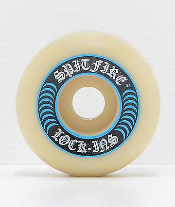 Spitfire Formula Four Lock-Ins 53mm 99a Skateboard Wheels