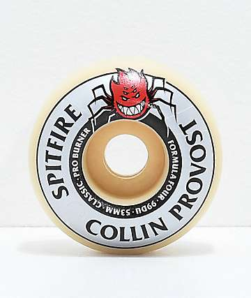 Spitfire Formula Four Pro Burner Provost 53mm 99a Skateboard Wheels
