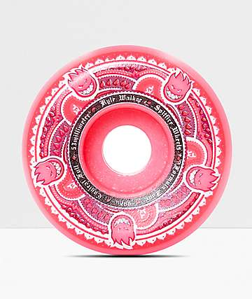 Spitfire Formula Four Walker Conical Full 53mm Pink Skateboard Wheels